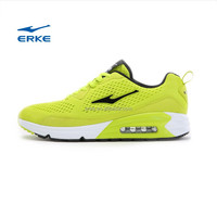 ERKE NEW summer bright colors mens air running shoes half-length air cushion sneaker for men brand sports shoes couple style