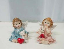 Fashion resin angel statue indoor decoration