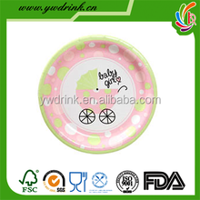 Baby Shower Favors Paper Plate for Party