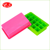 High quality new style BPA free ice maker silicone ice tray food-grade eco-friendly silicone ice cube tray