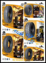 GM Rover brand 10.00r20 1100r20 truck tyre price list