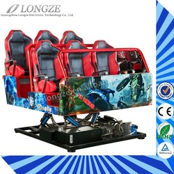 2015 newest 8D cinema 7D simulator 5D movies 3D kino ,360 degree with HMD movies with trailer