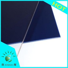 UV blocking solid surface round polycarbonate sheet flexible durable plastic sheet