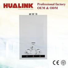 JSD12-JQ06 6l-12l white coated panel tankless gas water heater with lpg and nature gas