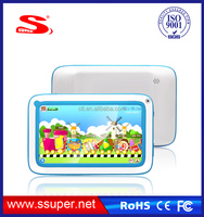 7inch A33 tablet pc for kids education tablet quad core dual camera wifi