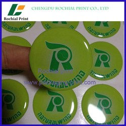 Guangdong factory custom wholesale epoxy dome sticker printing