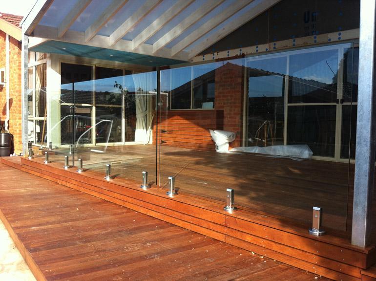 New Toughened Glass Balustrade For Balcony Pool Glass