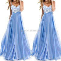 Sexy Lady Elegant Prom Dress Handmade Lace Hook Flower Tank Tops Long Skirt Sleeveless Evening Party Dress