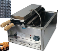 Hot Sale 6pcs Commercial Use Non-stick 110v 220v Electric Taiyaki Machine