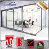 AS2047 Australia standard tempered glass aluminium sliding door with double glass