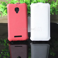 Special Up Down Open Flip Leather Case Cover For Alcatel one touch S'POP 4030 OT4030D OT-4030