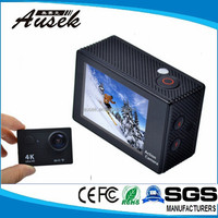 4K 10fps wifi 2.0 inch display action sport camera from video recorder factory
