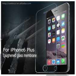 Japanese Glass , Korean Glue , for iPhone 6 plus tempered glass screen protector film ebour015