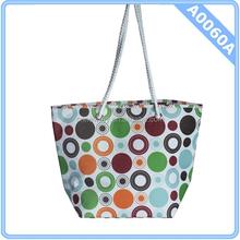 Large Polka Dot Cute Women Bag Cooler