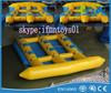 inflatable towable banana boat ride flyfish /towable water boat fly fish/inflatable flyfish banana baot