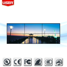 Wholesale TV narrow bezel lcd video wall super tft lcd color tv car headrest dvd player original panel 3 x 4