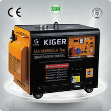 2014 Factory price wholesale High quality Gasoline water pump generator diesel 5kva with price