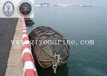 high elasticity and mechanical absorbent peunamtic rubber fender for Ship