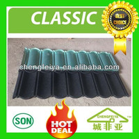 soncap decorative stone coated metal roof tile