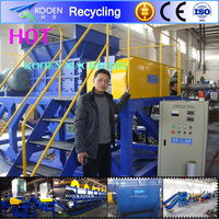 plastic and rubber recycling machine of low price