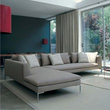 Living room sofa modern high quality fabric corner sofa