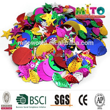 wholesale fashion PET/PVC Party PET Confetti