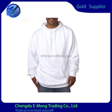 High Quality New Trendy Fashion Plain White Hoodies in China
