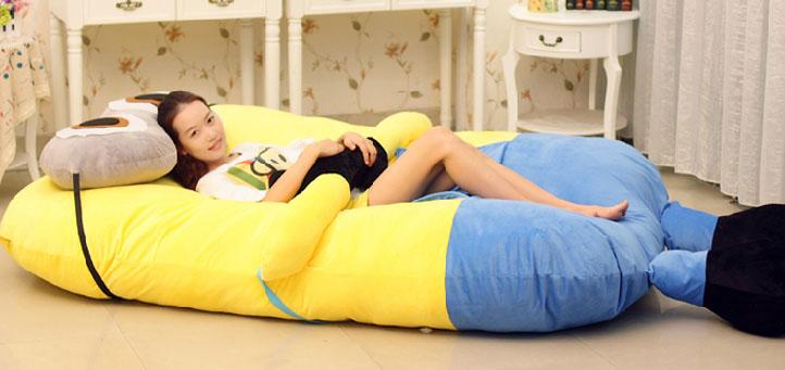 Giant Minion Sofa Bed