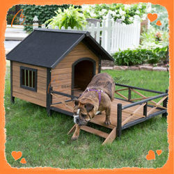 Solid wooden best quality dog beds new pets products