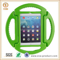 For iPad Mini 2 Plastic Case with Built in Stand and Carrying Handle