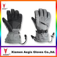 Professional waterproof skiing gloves,heated ski gloves with waterproof insert