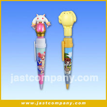 Animal Ballpoint Pen With music, Custom Cute Ballpoint Pen, Musical 3D Ballpoint Pen