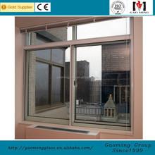Glass sliding window with aluminum frame DS-LP568