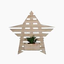 garden wooden cart planter, flower pot & planter carrier