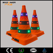 traffic cone bar/collapsible traffic cone/led light traffic cone