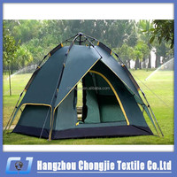 High Quality Pop Up Folding Two Door Double Layers Dome Automatic Camping Tent/Family Tent/Outdoor tent for 3-4 person