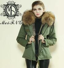 High fashion rabbit fur vest, good quality fur coats for Europe style