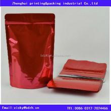 Aluminum foil or plastic ziplock/tear bag