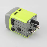 KANG TRAVEL A003 Secure travel adapter connector with usb ports