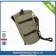 New design round canvas for travelling backpack