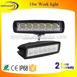 12 24 volt led work light 18w spot flood beam work light bar 3w/piece car worklight 4x4 led jeep atv utv off road
