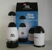 slap chop, manual vegetable fruit chopper