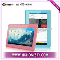 Hottest & Cheapest! 7 inch Android 4.1 A13 samsung tablet pc Q88 with Wifi Camera