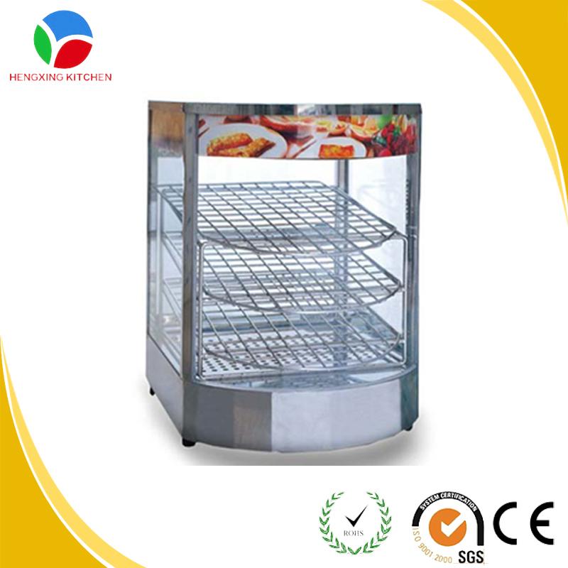 Glass Food Warmers ~ Fast food restaurant warmer glass display