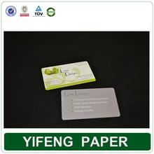 special shape elegant cmyk foil offset 3d screen printing business card