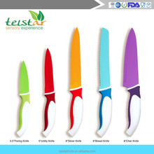 New high-grade green antibacterial non-stick knife stainless steel colored knife spray non-stick coating knife