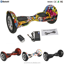 newest innovative products two wheels self balancing scooter with bluetooth