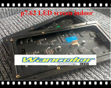china High Quality price P7.62 Indoor SMD3528 RGB Color LED Video screen Module 244*122mm 32*16 dots 1/8 Scan