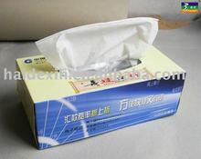 100% virgin wood pulp gift box facial tissue paper , skin care facial tissue