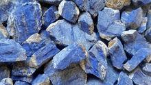 Lapislazzuli pietra, naturale blu della pietra preziosa pietra, lapis lasurite pietra